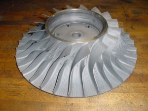 rise of the pt6a impeller
