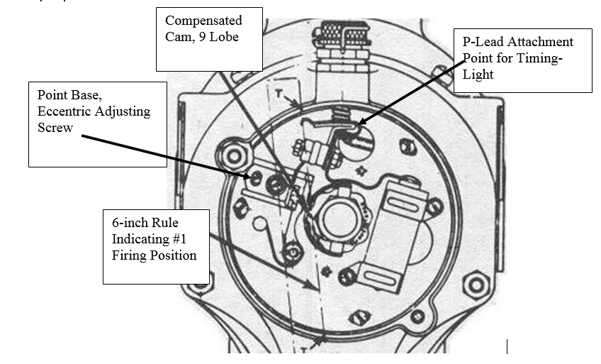 Mag o Timing On A Pratt R985 Or R1340 Radial Engine on airplane light switch