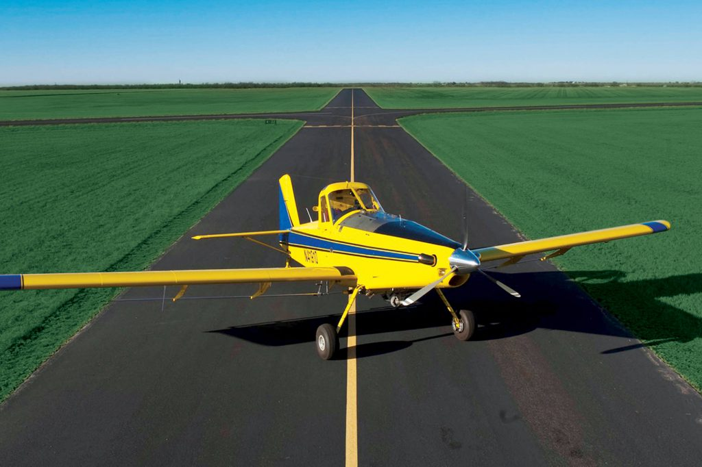 The History of And Types of Air Tractor Aircraft Powered by P&W