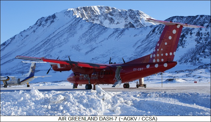 Air Greenland dash 7